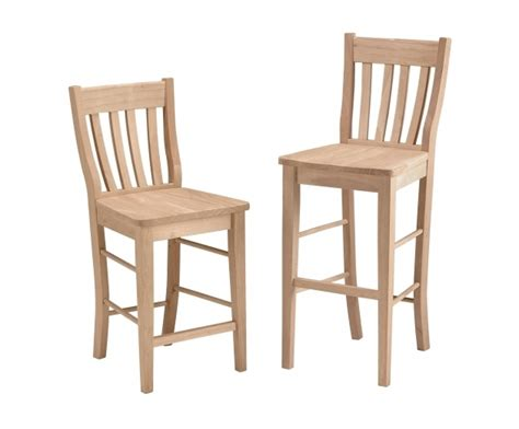 Kitchen Chairs Comfortable by Comfortable Wood Unfinished Kitchen Chairs High Back