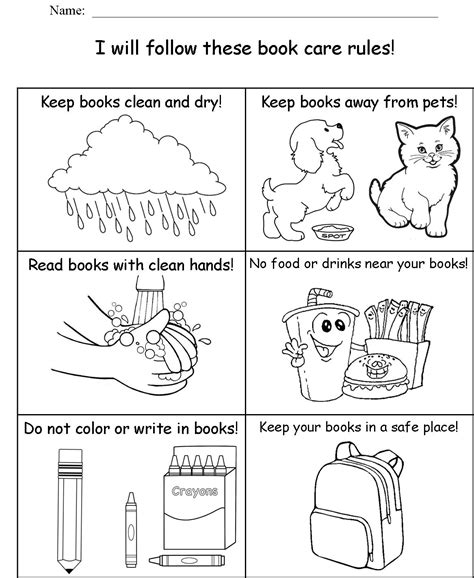 Favorite Parts Of A Book Worksheet Goodsnyccom