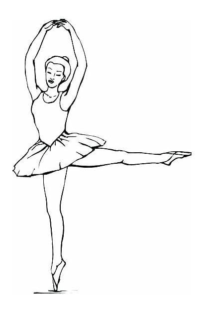 Coloring Ballet Pages Dance Sheets Ballerina Printable