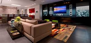 living room family room home entertainment with kef ci5160 With tips to make home theater ideas become true