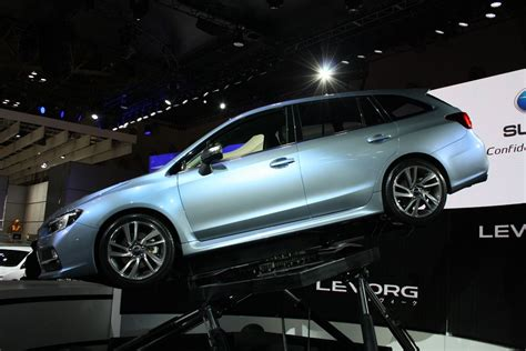 Subaru Levorg Concept Side Right 2018 Tokyo Motor Show