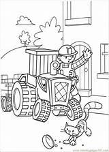 Coloring Builder Bob Popular sketch template
