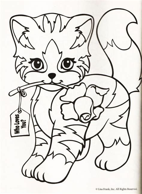 Gaspard And Lisa - Free Colouring Pages