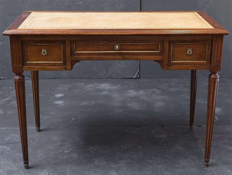 desk with slide out table french writing desk with pull out slides at 1stdibs