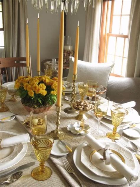 stylish thanksgiving table settings family holiday