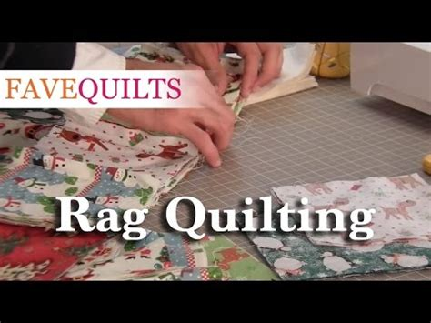 rag quilting tutorial youtube