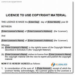 copyright license agreement template With copyright license agreement template