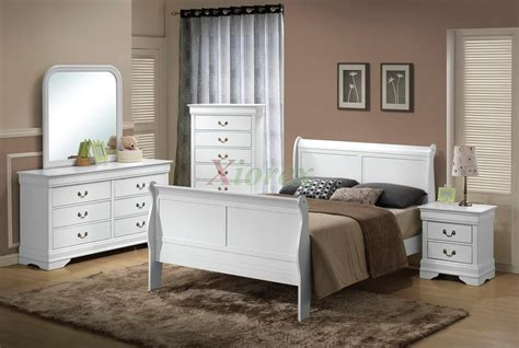White Full Size Bedroom Furniture Home Design Decor