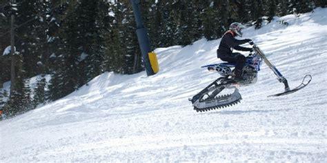 convert  dirt bike   snowbike motosport