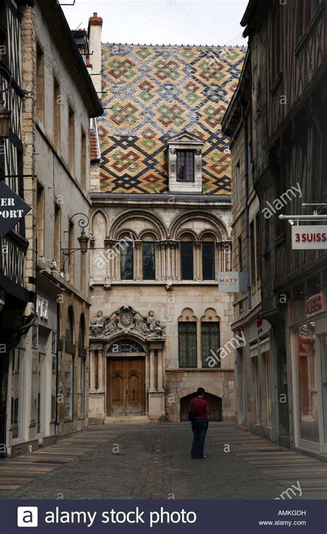 dijon maison milsand in rue des forges stock photo royalty free image 15287260 alamy