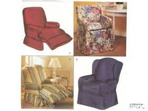 chair slipcovers sewing pattern recliner wingback by