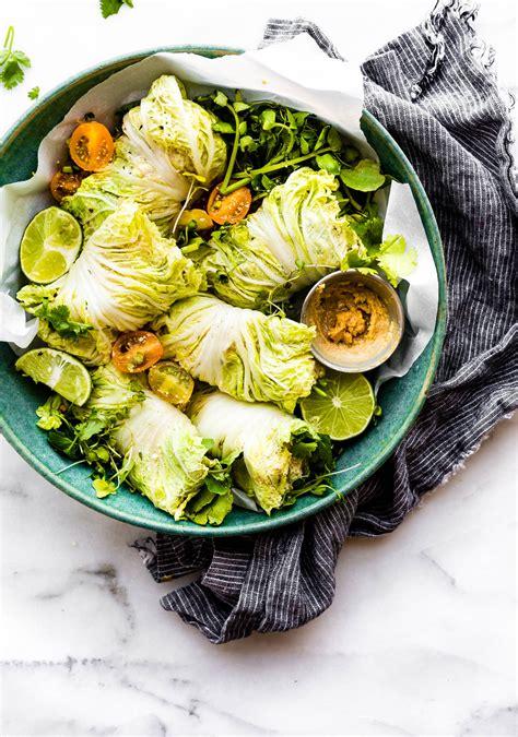 2 Miso Mango Chicken Salad Cabbage Wraps 2