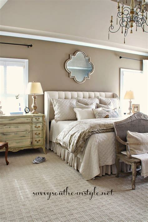 neutral master bedroom beige wall colors bench