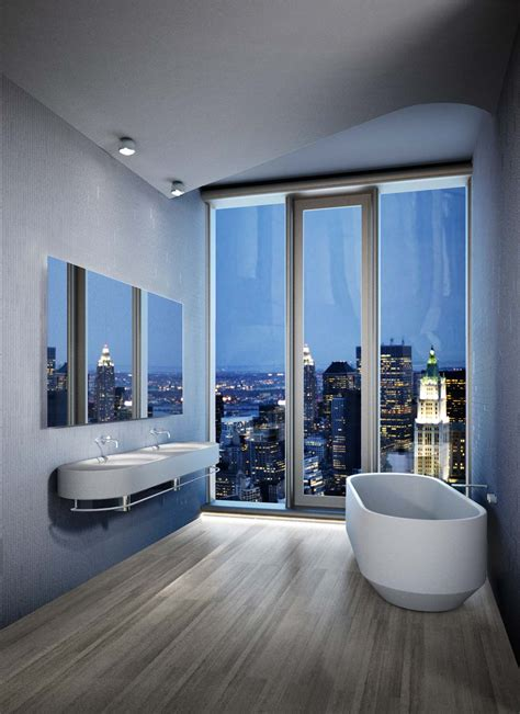 Modern Bathroom Nyc by Iconic Luxury New York Tribeca Apartments For Sale 56