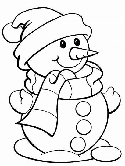 Coloring Santa Pages Easy Christmas Printable Getcolorings