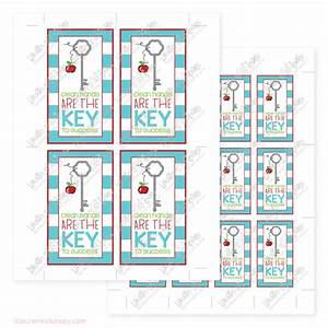 key to my success teacher gifts printables quotes With free printable hand sanitizer labels