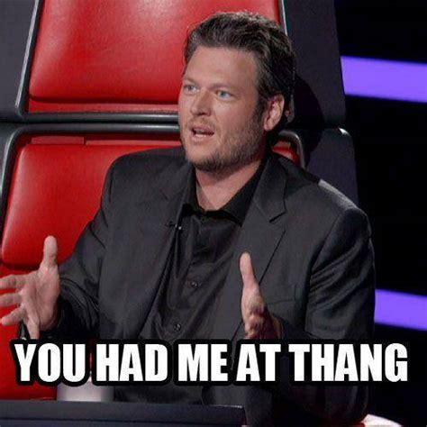 Blake Shelton Meme - the voice memes only fans will understand