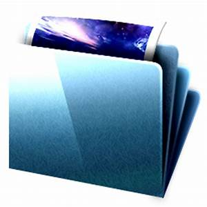 Folder My Documents Icon - DeepSea Blue Icons - SoftIcons.com