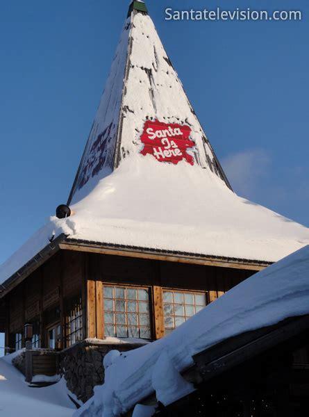 bureau du pere noel photo bureau du père noël à rovaniemi en laponie finlandaise