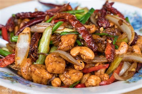 cuisine thaï amazing cashew chicken recipe authentic and easy to