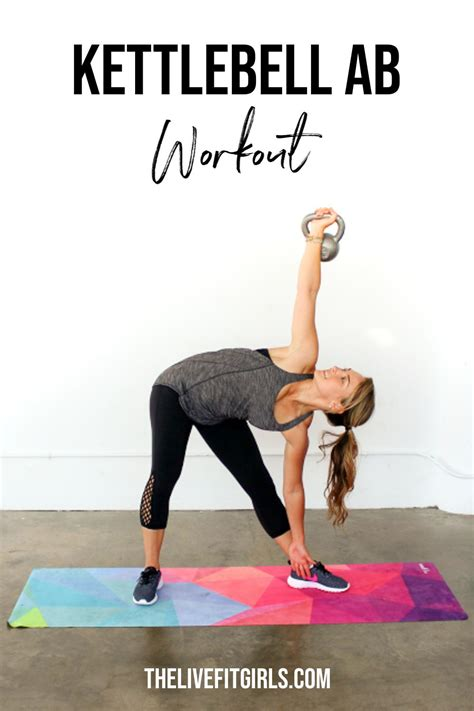 kettlebell workout core exercises ab thelivefitgirls strengthen stomach