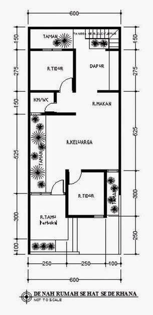 desain rumah minimalis  lantai ukuran  model rumah unik