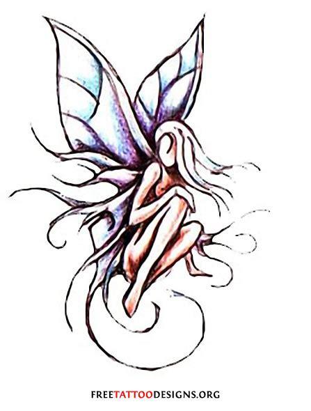 Fairy Tattoo Designs  Short Hairstyle 2013