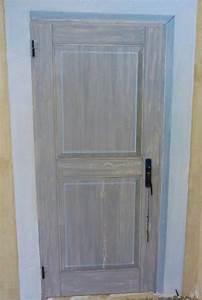 porte en zinc d39ou primaire d39accroche speciale pour With peinture d accroche bois