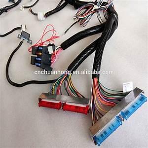 Pcm Ecm Connector C1 C2 Plug Ls1 Wiring Kit Camaro Firebird Corvette Gm 15492640