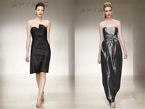 bridesmaids39 dresses by amsale black cocktail dress and With winter cocktail dresses for wedding