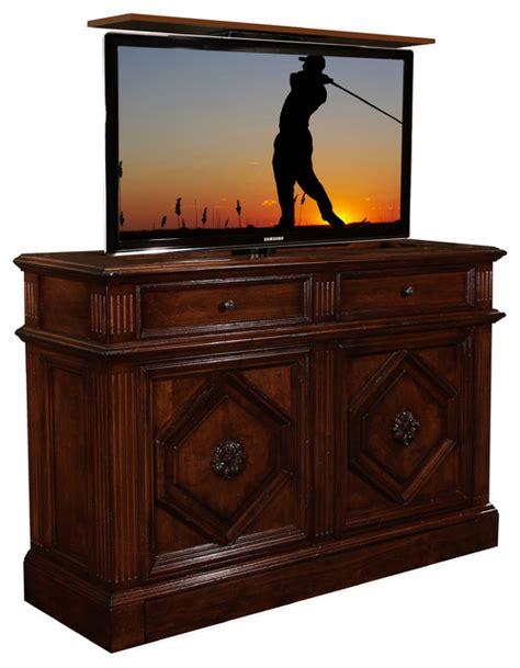 tv cabinet hidden tv lift montage hidden tv lift cabinet us made tv lift cabinet by
