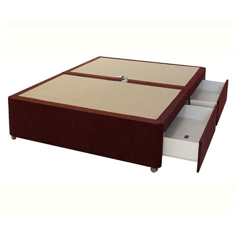 divan bed base with drawers 4 drawer divan base