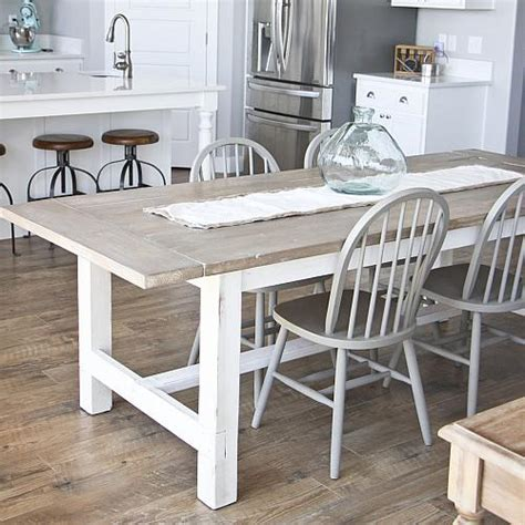 diy weathered farmhouse table project  decoart