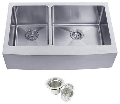 60 40 stainless steel sink stainless steel undermount farmhouse 40 60 double bowl