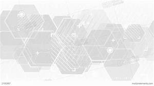 Gray Abstract Technology Loop Background Stock Animation ...