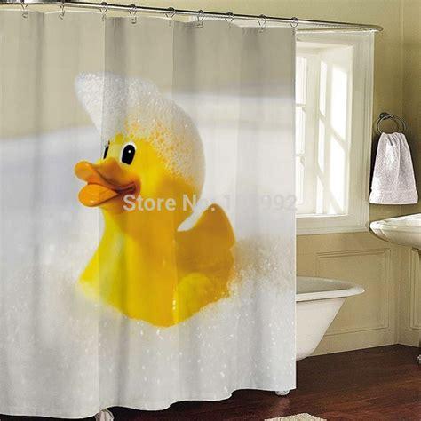 rubber duck shower curtain rubber duck bathroom fabric shower curtain bath curtain