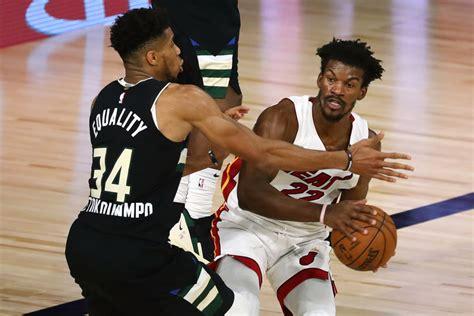 NBA: Playoffs-Miami Heat at Milwaukee Bucks | HoopsHype
