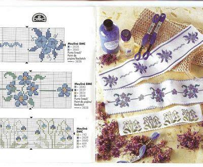 schemi punto croce fiori piccoli schemi punto croce gratis bordure con piccoli fiori
