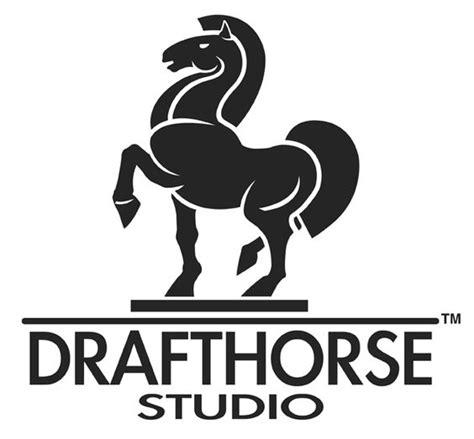 horse draft logos studio drafthorse clydesdale horses equine adobe illustrator illustration banner dean