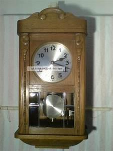 Wanduhren Mit Pendel Antik : wanduhr alt pendeluhr regulator uhr antik mechanisch ~ Watch28wear.com Haus und Dekorationen