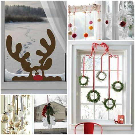 Weihnachtsdeko Fenster Ideen by Kreative Ideen F 252 R Eine Festliche Fensterdeko Zu