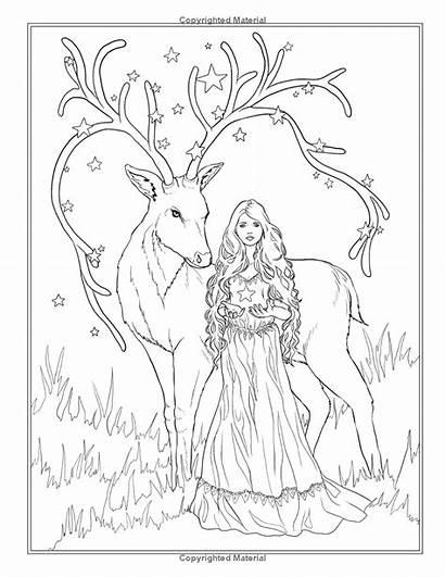 Fantasie Coloring Fantasy Selina Fenech Magic Ausmalbilder