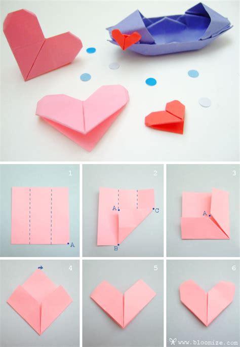 paper folding heart