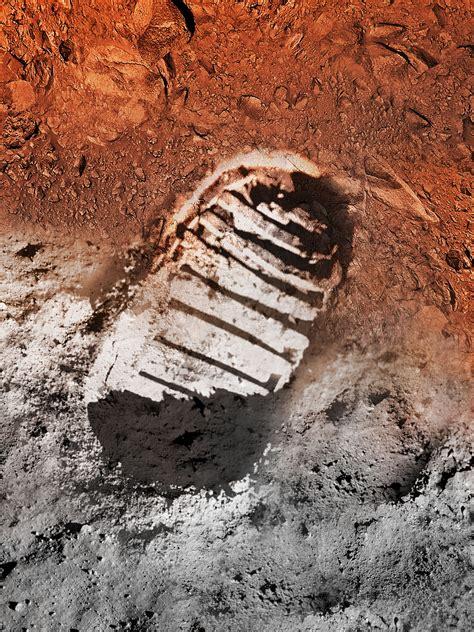 apollo footprint nasas mars exploration program