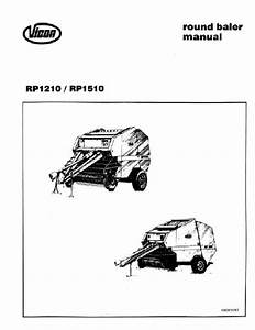 Agco Technical Publications  Portage Hay Equipment  Rp1510 Operator