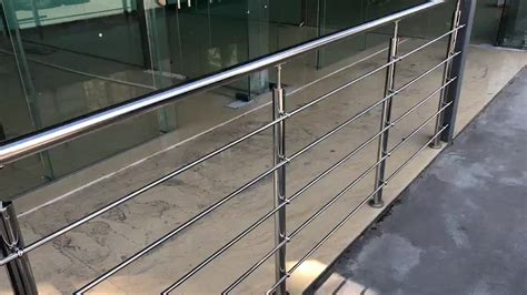 In this case, stainless steel clamps can be used for attaching glass panels to the railing system. Stainless Steel Stair Handrail Wall Mounted Round Pipe Balcony Railing - Buy Stair Railing,Round ...
