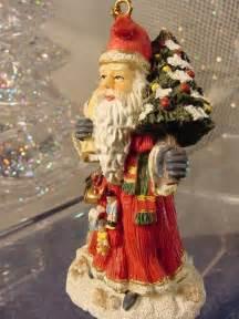 traditional german santa claus christmas tree ornament weihnachtsman 4pics ebay
