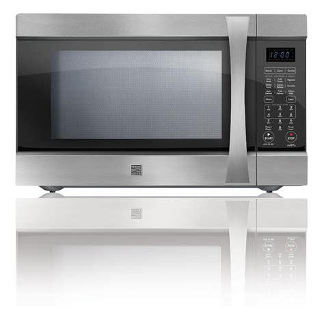 countertop convection microwave kenmore elite countertop microwave 1 5 cu ft 74153 sears
