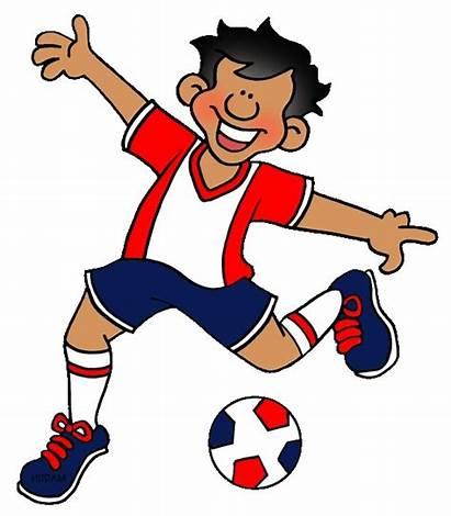 Clipart Soccer Dribbling Team Pass Sports Player
