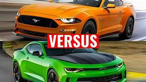 2018 Ford Mustang vs Chevy Camaro - YouTube
